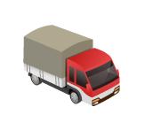 軽トラック1台分